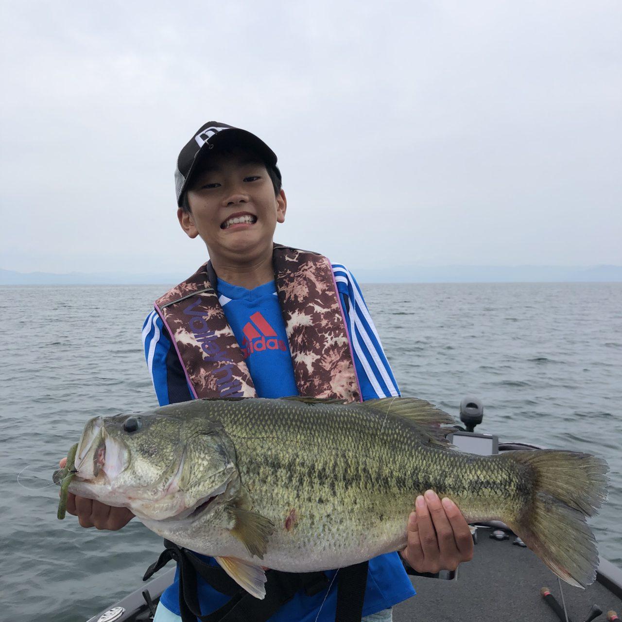 夏の釣りがハマり始めた琵琶湖!